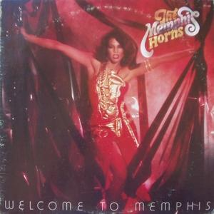 Album  Cover Memphis Horns - Welcome To Memphis on RCA, RCA VICTOR Records from 1979