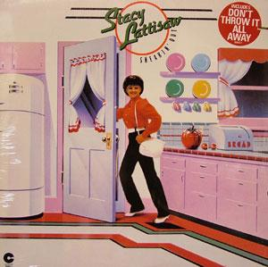 Album  Cover Stacy Lattisaw - Sneakin Out on COTILLION Records from 1982