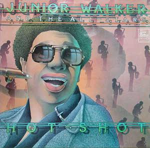 Album  Cover Junior Walker & The All-stars - Hot Shot on MOTOWN Records from 1976