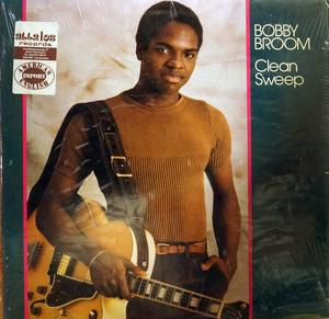 Album  Cover Bobby Broom - Clean Sweep on ARISTA/GRP Records from 1981