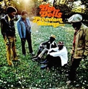 Album  Cover The Dells - Freedom Means on CADET Records from 1971