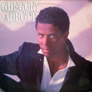 Album  Cover Gregory Abbott - Shake You Down on COLUMBIA (CBS) Records from 1986