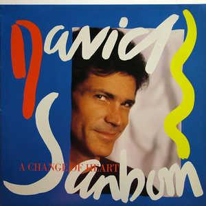 Front Cover Album David Sanborn - A Change Of Heart