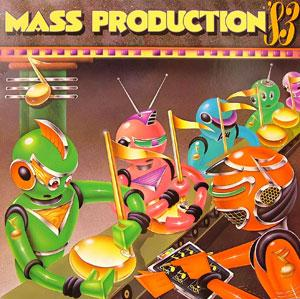 Album  Cover Mass Production - Victory '83 on COTILLION Records from 1983