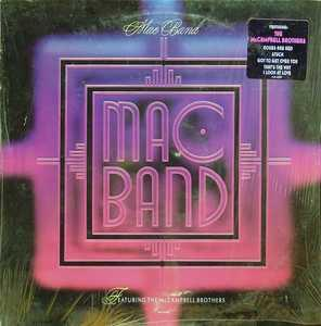 Album  Cover Mac Band - Mac Band on MCA Records from 1988