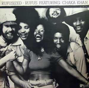 Album  Cover Rufus & Chaka Khan - Rufusized Rufus Featuring Chaka Khan on ABC Records from 1975