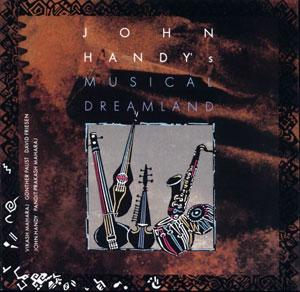 Album  Cover John Handy - Musical Dreamland on BOULEVARD Records from 1996