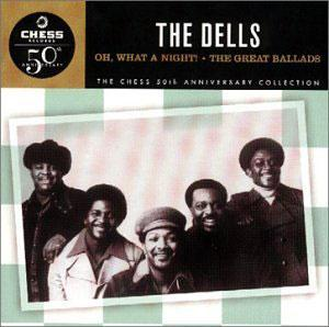 Album  Cover The Dells - Oh, What A Night on CADET Records from 1970