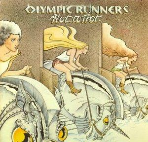 Album  Cover Olympic Runners - Hot To Trot on LONDON Records from 1977