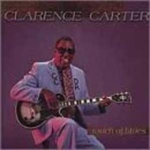 Album  Cover Clarence Carter - Touch Of Blues on ICHIBAN Records from 1989