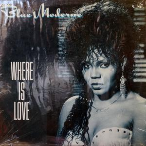 Album  Cover Blue Moderne - Where Is Love on  Records from 1989