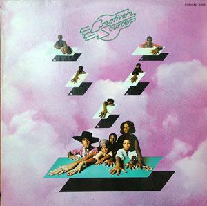 Album  Cover Creative Source - Creative Source on METRONOME Records from 1974