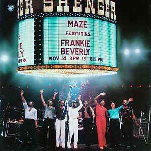 Album  Cover Maze - Live In New Orleans on CAPITOL Records from 1981