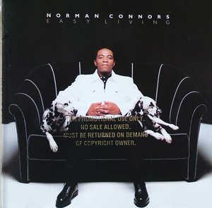 Album  Cover Norman Connors - Easy Living on MOTOWN Records from 1996