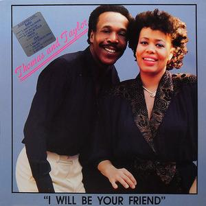 Album  Cover Thomas And Taylor - I Will Be Your Friend on 24 TRAK Records from 1989