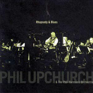 Album  Cover Phil Upchurch - Rhapsody & Blues on GO JAZZ Records from 1999