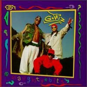 Album  Cover G-wiz - Naughty Bits on SCOTTI BROS. Records from 1993