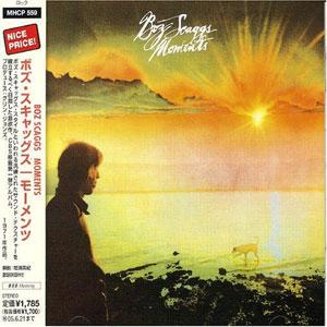 Front Cover Album Boz Scaggs - Moments
