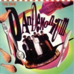 Album  Cover The Time - Pandemonium on PAISLEY PARK Records from 1990