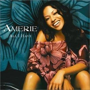 Album  Cover Amerie - All I Have on COLUMBIA Records from 2002