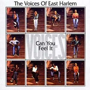 Album  Cover Voices Of East Harlem - Can You Feei It? on JUST SUNSHINE Records from 1974