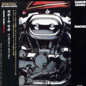 Album  Cover Gabor Szabo - Macho on SALVATION Records from 1975