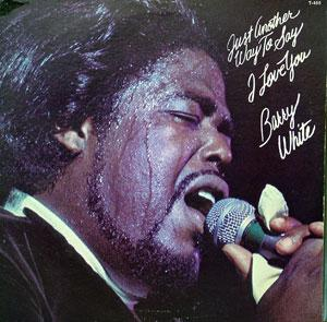 Front Cover Album Barry White - Just Another Way To Say I Love You