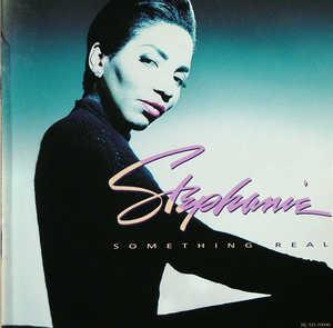 Front Cover Album Stephanie Mills - Something Real