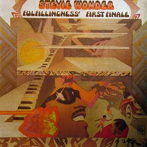 Album  Cover Stevie Wonder - Fulilfillingness First Finale on TAMLA Records from 1974