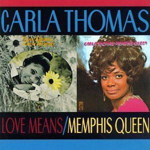 Album  Cover Carla Thomas - Love Means Carla Thomas on STAX Records from 1971