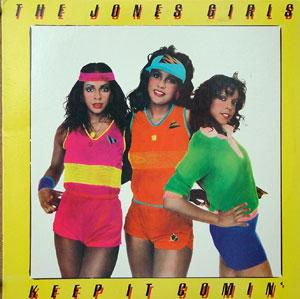 Album  Cover The Jones Girls - Keep It Comin' on PHILADELPHIA INTERNATIONAL Records from 1984