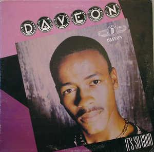 Album  Cover Daveon - It's So Good on EMPIRE Records from 1987