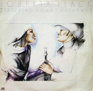 Album  Cover Roberta Flack - Roberta Flack Featuring Donny Hathaway on ATLANTIC Records from 1980