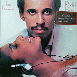 Album  Cover Tom Browne - Rockin' Radio on ARISTA Records from 1983