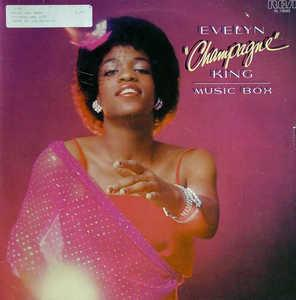 Album  Cover Evelyn 'champagne' King - Music Box on RCA Records from 1979