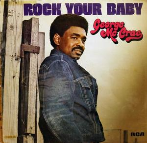 Album  Cover George Mccrae - Rock Your Baby on TK Records from 1974