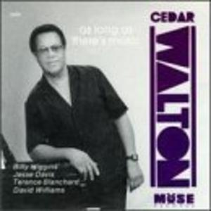 Album  Cover Cedar Walton - As Long As There's Music on MUSE Records from 1990