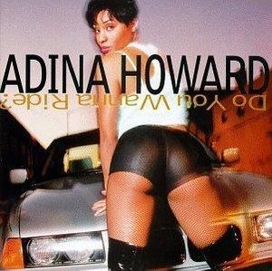 Album  Cover Adina Howard - Do You Wanna Ride on MECCA DON Records from 1995