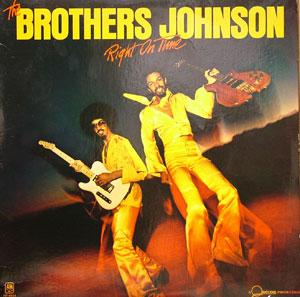 Album  Cover The Brothers Johnson - Right On Time on A&M Records from 1977