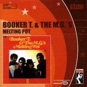 Album  Cover Booker T. Jones And The Mgs - Melting Pot on STAX Records from 1971