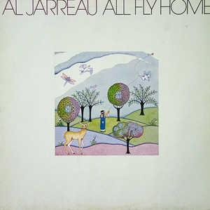 Front Cover Album Al Jarreau - All Fly Home