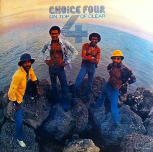 Album  Cover The Choice Four - On Top Of Clear on RCA VICTOR Records from 1976