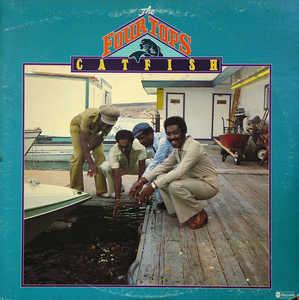 Album  Cover The Four Tops - Catfish on ABC Records from 1976