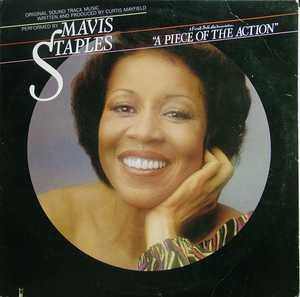 Album  Cover Mavis Staples - Ost A Piece Of The Action on CURTOM Records from 1977