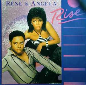 Album  Cover René And Angela - Rise on CAPITOL Records from 1983