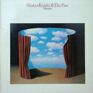 Album  Cover Gladys Knight & The Pips - Visions on COLUMBIA Records from 1983