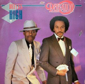 Album  Cover Delegation - Deuces High on ARIOLA Records from 1982