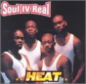 Album  Cover Soul For Real - Heat on WARLOCK Records from 1999
