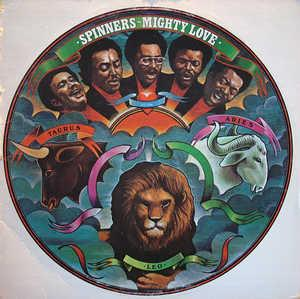 Album  Cover The Spinners - Mighty Love on ATLANTIC Records from 1974