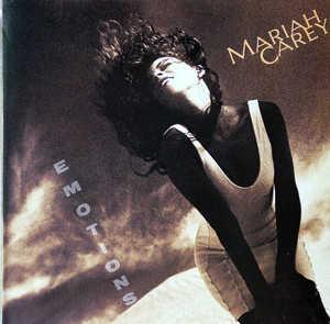 Album  Cover Mariah Carey - Emotions on COLUMBIA Records from 1991